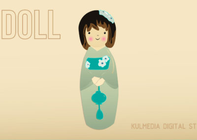 Kulmedia Digital Studio Illustration Digital Art Doll