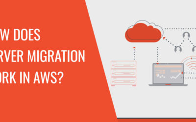How does server migration work in AWS?