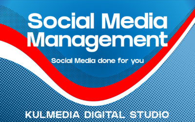Social media management done for you