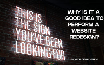 Why is it a good idea to perform a website redesign?