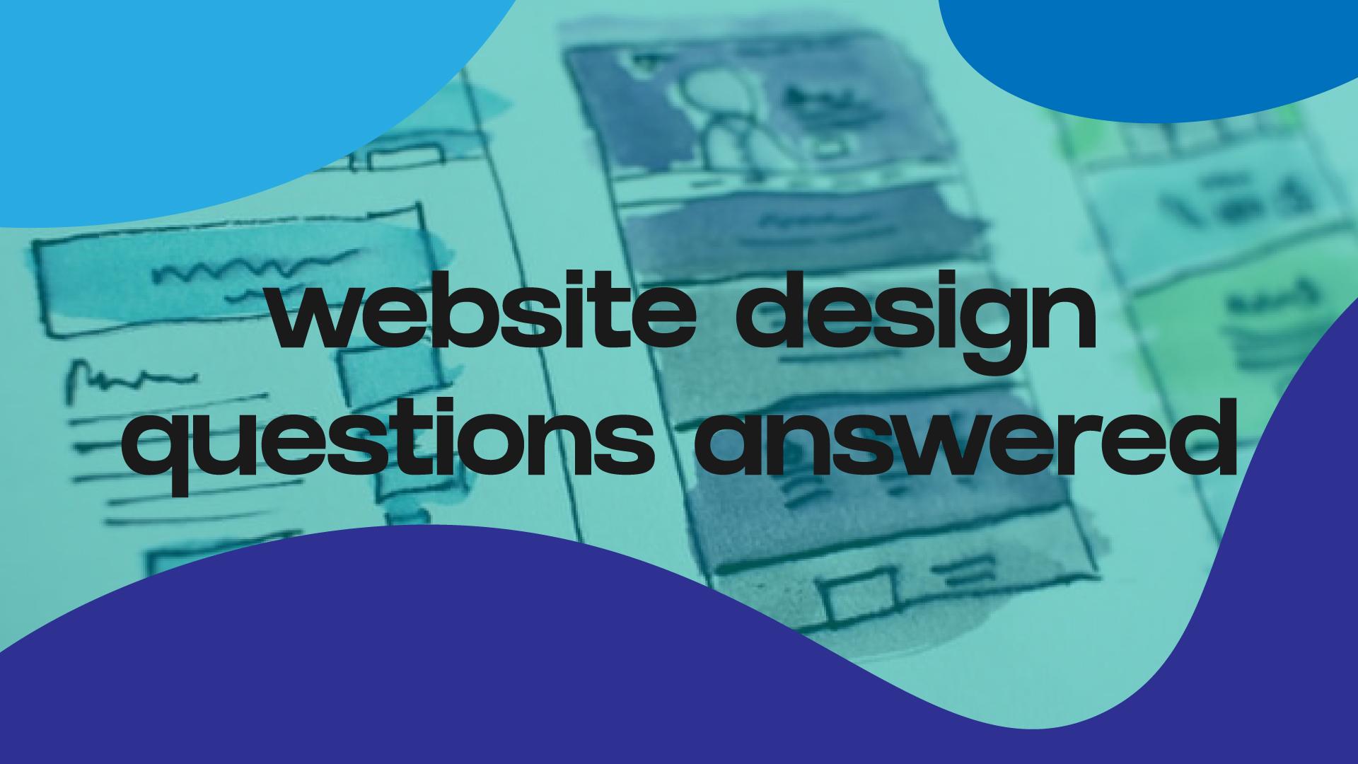 website design questions answered by Kamal Kulmedia Digital Studio