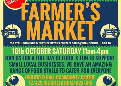 Farmers Market Poster Sqaure