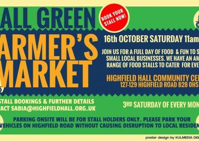 Farmers Market Poster HD Slide